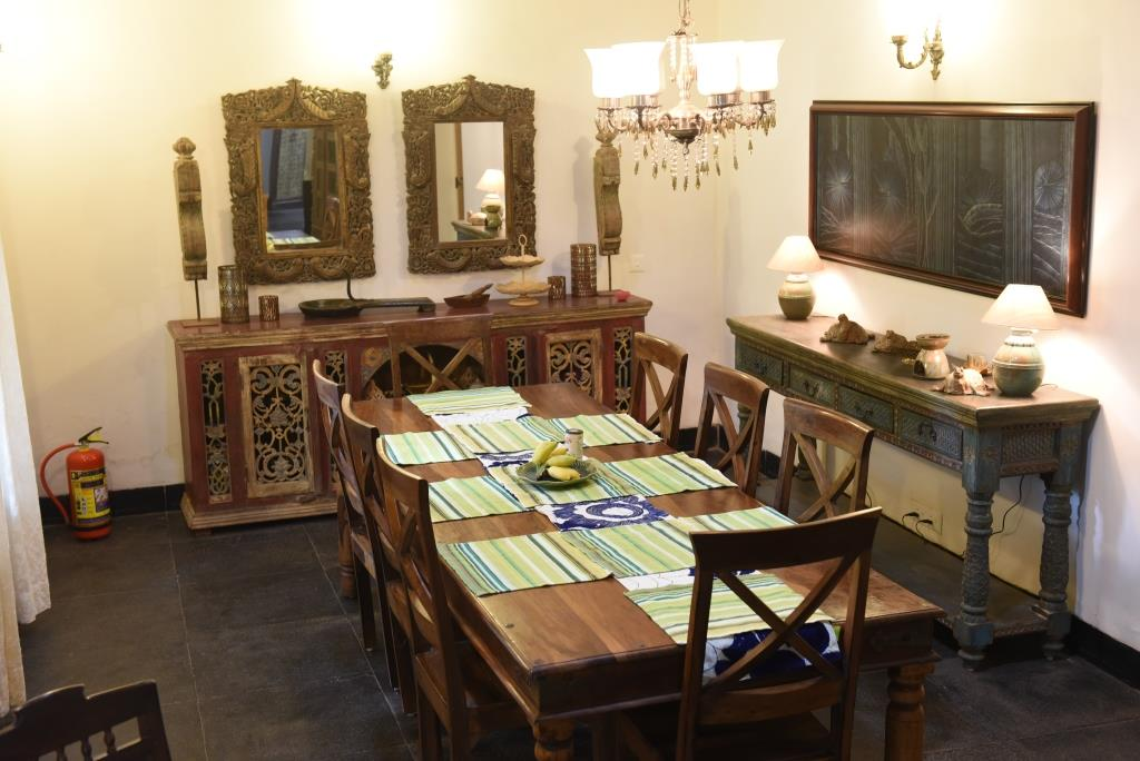 Terrarosa Dinning area